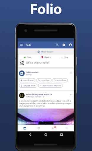 Folio for Facebook & Messenger 1