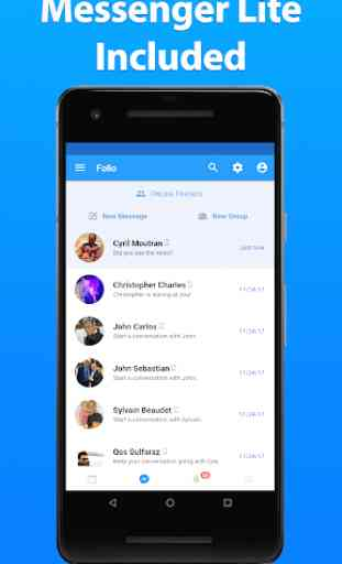 Folio for Facebook & Messenger 2