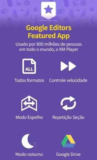 km player - Reproduza Qualquer Formato de Vídeo 3