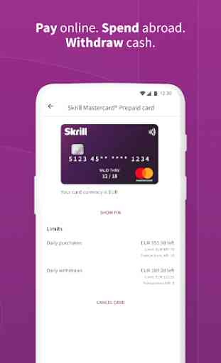 Skrill - Fast, secure online payments 2