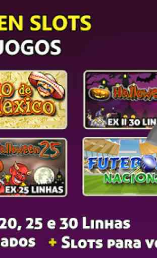 Halloween Slots 30 Linhas Multi Jogos 1