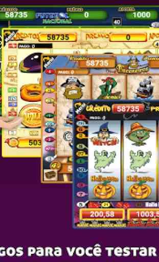Halloween Slots 30 Linhas Multi Jogos 2