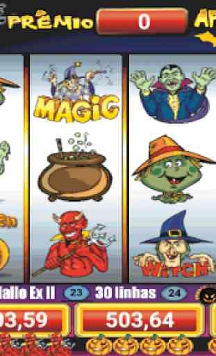 Halloween Slots 30 Linhas Multi Jogos 3