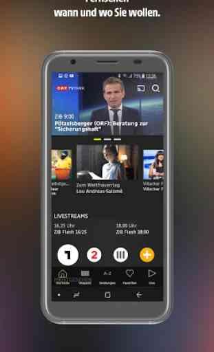 ORF TVthek: Video on demand 1