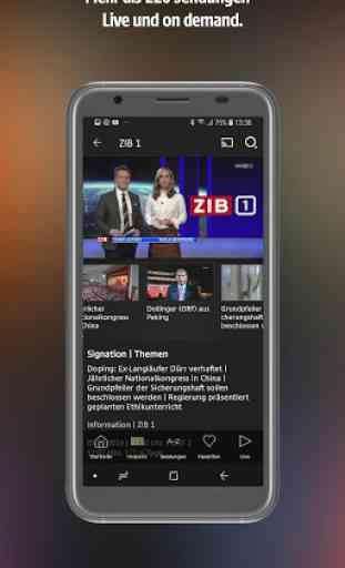 ORF TVthek: Video on demand 2