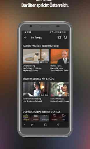 ORF TVthek: Video on demand 4