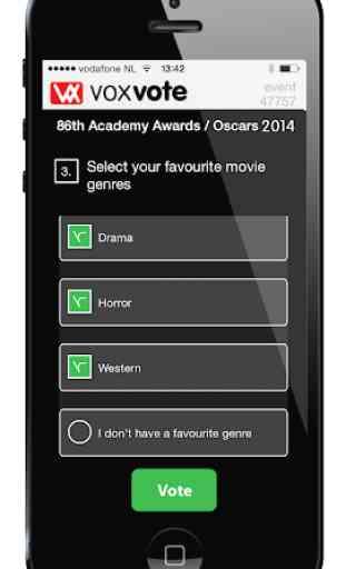 VoxVote Live Voting App 2