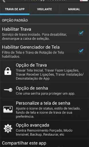 Perfect App Lock (português) 4