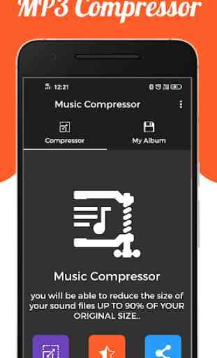 Audio : MP3 Compressor 1