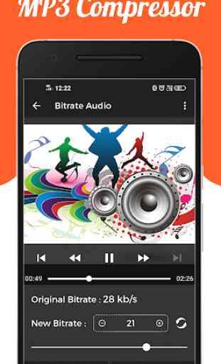 Audio : MP3 Compressor 3
