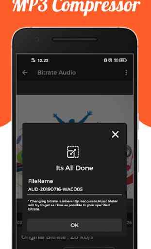 Audio : MP3 Compressor 4
