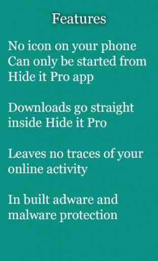 vBrowser for Hide it Pro 3