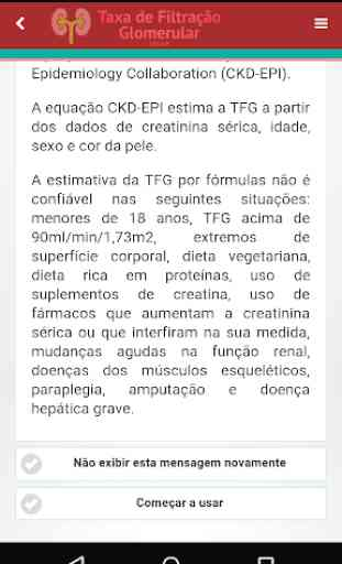 Taxa de Filtração Glomerular 2