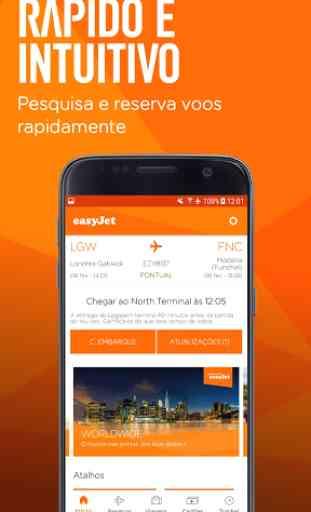 easyJet: Travel App 1