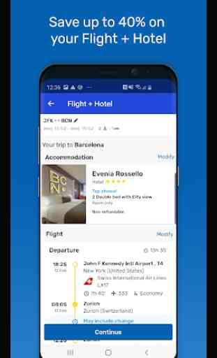 eDreams: Reserve voos baratos e ofertas de viagem 2