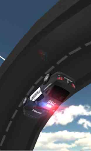 Condução carro polícia 4