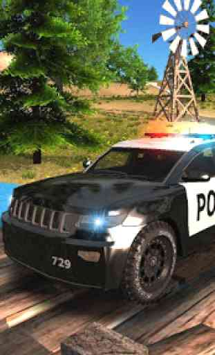 Police Car Driving Offroad 1