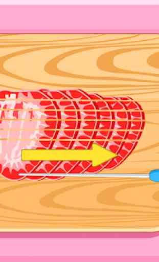 Sanduíche Sorvete de Morango 2