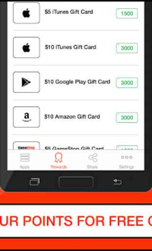 Cash for Apps - Free Gift Cards 2
