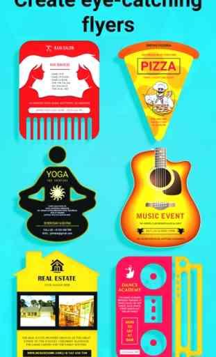 Flyers, Poster Maker, Graphic Design, Banner Maker image 3