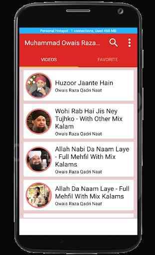Alhaj Muhammad Owais Raza Qadri Naats 3