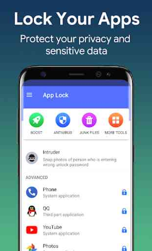 AppLock - Lock Apps & Security Center 1