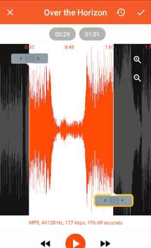 Audio Converter (MP3, AAC, WMA, OPUS) - MP3 Cutter 3