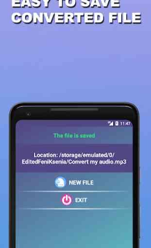 Audio Converter MP3 WAV WMA FLAC AMR AAC OGG etc. 4
