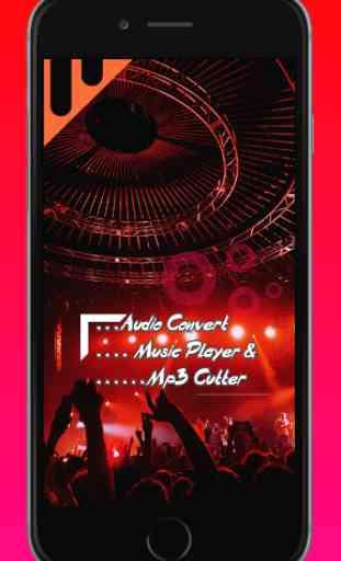 Audio MP3 Cutter Mix Converter - Mp3 Music Player 1