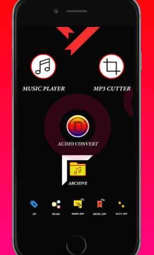 Audio MP3 Cutter Mix Converter - Mp3 Music Player 2