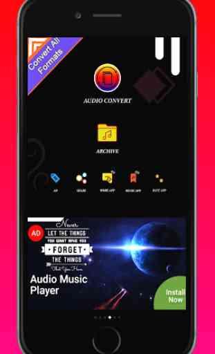 Audio MP3 Cutter Mix Converter - Mp3 Music Player 3