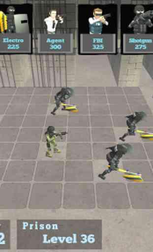 Battle Simulator: Prison & Police 2