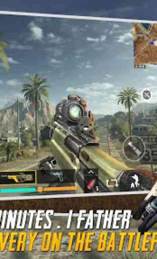 Blood Rivals: Battleground Jogos de Tiro 2