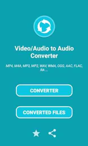 Conversor de áudio - todos os formatos 1