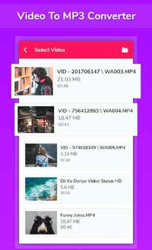 Conversor de vídeo para mp3 - Corte,Junção,Reverso 1