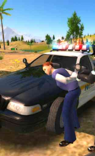 Crime City Police Car Driver 2