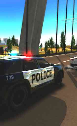 Crime City Police Car Driver 3