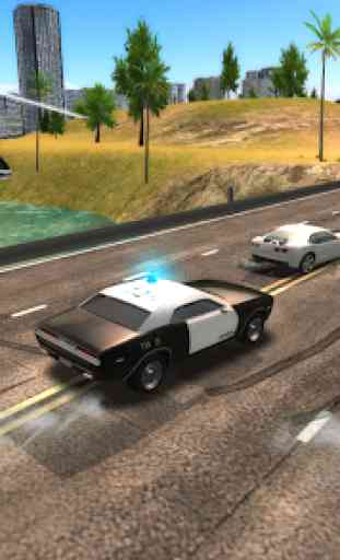 Crime City Police Car Driver 4