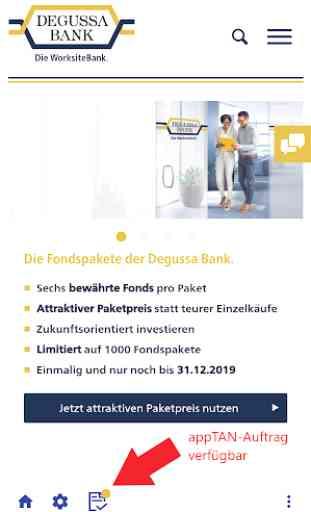 Degussa Bank Banking+Brokerage 3