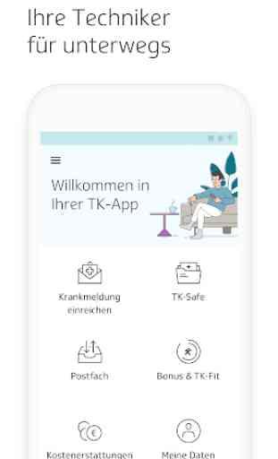 Die TK-App 1
