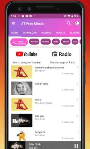 Download de Músicas Mp3. Jogador grátis do YouTube 4
