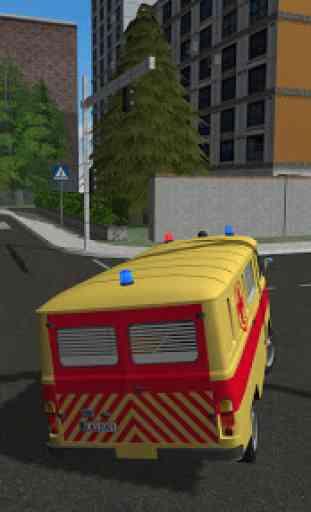 Emergency Ambulance Simulator 3