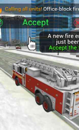Fire Truck Rescue Simulator 1