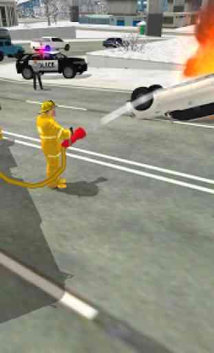 Fire Truck Rescue Simulator 2