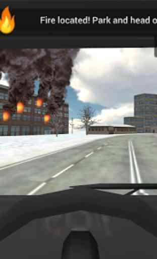 Fire Truck Rescue Simulator 3