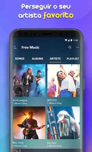 Free Music - Aplicativo de música, mp3 gratis 3