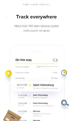 Megabonus – Finding your parcel by tracking number 1