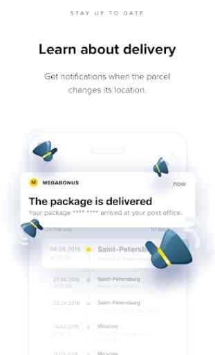 Megabonus – Finding your parcel by tracking number 4