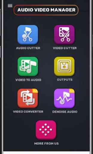 MP3, MP4 Audio Video Cutter, Aparador e Conversor 2