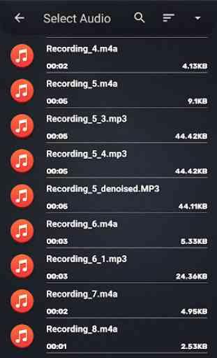 MP3 WAV AAC M4A Áudio Cortador, Conversor, Fusão 3